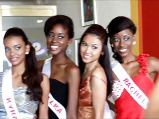Miss Excoriating Beauties Suriname 2013 Dusk Gown Video
