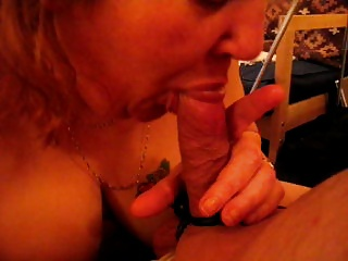 Venerable flame sucking my cock then sitting on it pt1