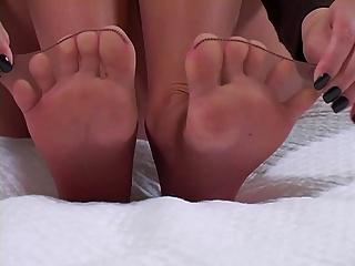 Ultra Sexy Sheer Pantyhose tease