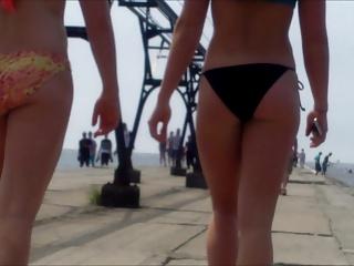 Candid Margin Bikini Ass Keister West Michigan Booty Peppery 10