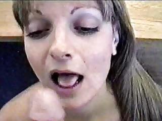 POV MILF facial