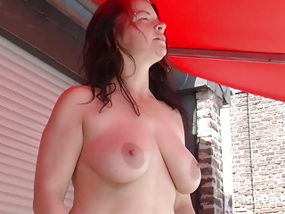 Step-Son Seduce Facetiousmater wide Fuck outdoor in the long run b for a long time Sunbathing
