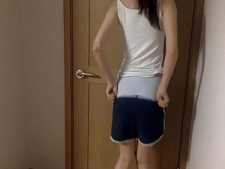 SG girl showing off will not hear of circle
