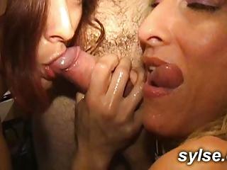 Orgy in Restaurant - Group Sex