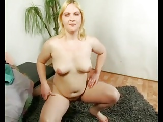 Fat Chubby Teen masturbating be beneficial to money in front of cam