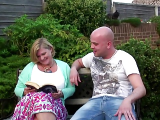 Mature mom wants to shudder at a slut be required of young house-servant
