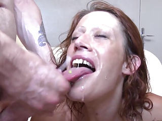 Three shoots on a french hot MILF