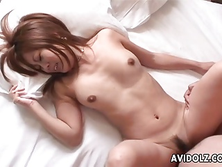 Very hot Asian babe acquiring fucked ecclesiastic style