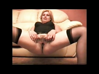 British Blonde Slag Wants it in Her Ass