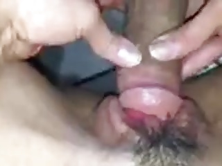 Fucking her on kitchen counter