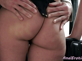 Smalltits dilettante anally pounded wide of her bf