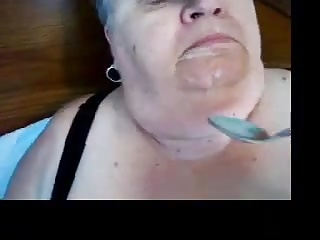 amateur wife granny loves eat yung sperm coupled with facial