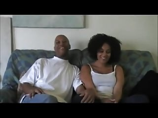 Blue Ebony Makes Porn Debut With Husband At Home Debut.mp4