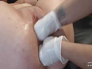 Mr Big french mature analyzed n pussy creamed n double fisted