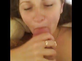 Girlfriend Flannel sucking