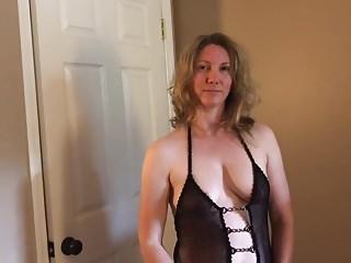 Slut Wife Becky's Dildo