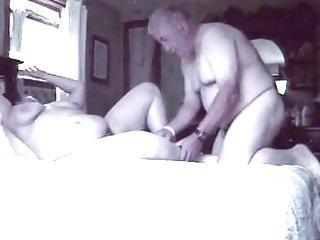 Old couple - Grandpa together with Grandma