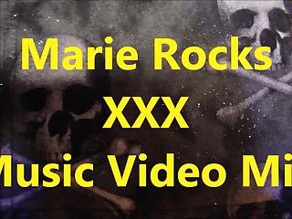 Head Tribute:  MarieRocks XXX Music Video