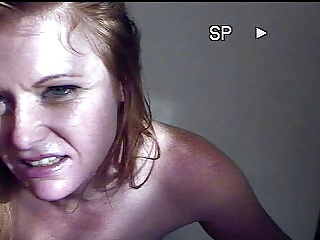 Excited redhead is a porn freak