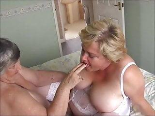 Grandma Libby Shellacking Pussy 2