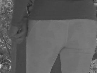 Micro tanga de hilo apenas se puede ver en infrared