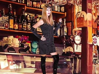 sexy ivana in a bar