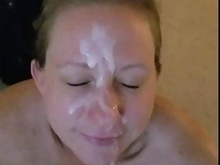 Bush-leaguer deepthroat and facial