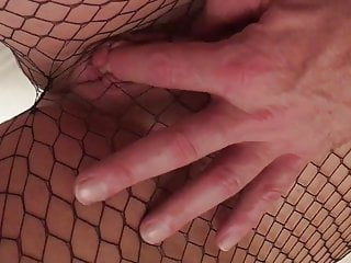 Pussy respecting fishnet
