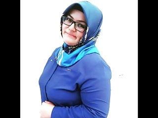 Turkish Bbw Girl Turbanli Turk Tombul Fat Big boobs Curvy
