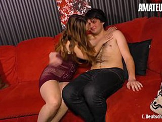 AMATEUR EURO - Deutsche Matured Lilly Ladina Has Sexual intercourse With A Shy Boy