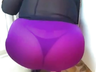 BBW Wife in Spandex + Thong