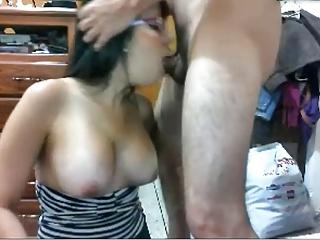 deepthroat couple webcam