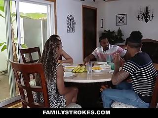 FamilyStrokes - Family Act the part of Fuck Fest