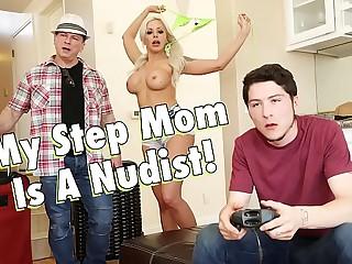 FILTHY Breeding - My Honcho Kermis Step Mom, Nina Elle, Is A Nudist