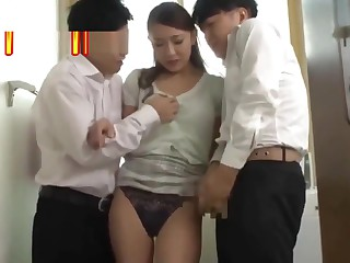 Blackmailed my son's mixed bag mate #2[JAV English Subtitle]