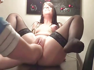 Teen fisted and double fisted - brightonguy -