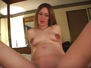 Pregnant Amateur Creampie
