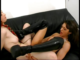 French Redhead in Her First Time Anal - It Gets Loud