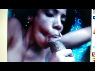 Jeneida G. sucking and gagging