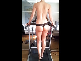treadmill high heels