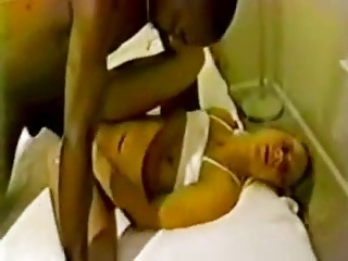 Blinde First time with a big black cock