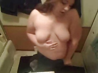 Good-looking BBW Teen Show Small Soul
