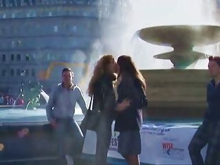 GFEST Kissing with reference to Trafalgar Square