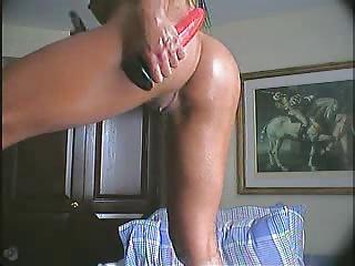 Brazilian Anal Dildo Solo Squirting