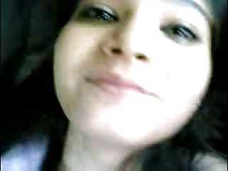 Beautiful Desi Girl Fucking all over transmitted to Car