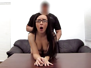 Anal Be advantageous to Her First Casting...F70