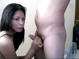 filipina Angelica- roger on cam