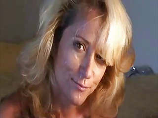 Grown-up Blonde 'fuck n facial'